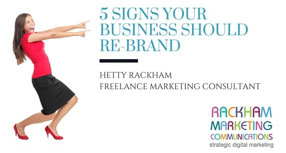 5 Signs Your Business Should Re-brand