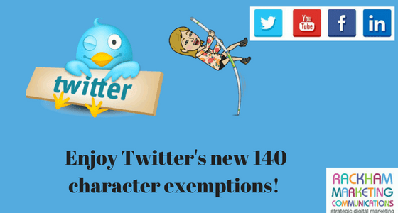 Making the most of your 140 characters on Twitter from Today!