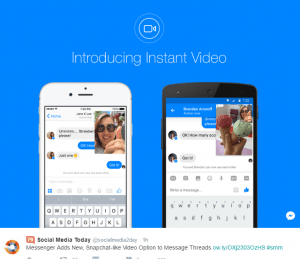 Facebook Live Instant Messenger