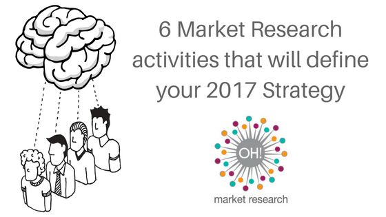 6 Market Research activities to define our 2017 strategy